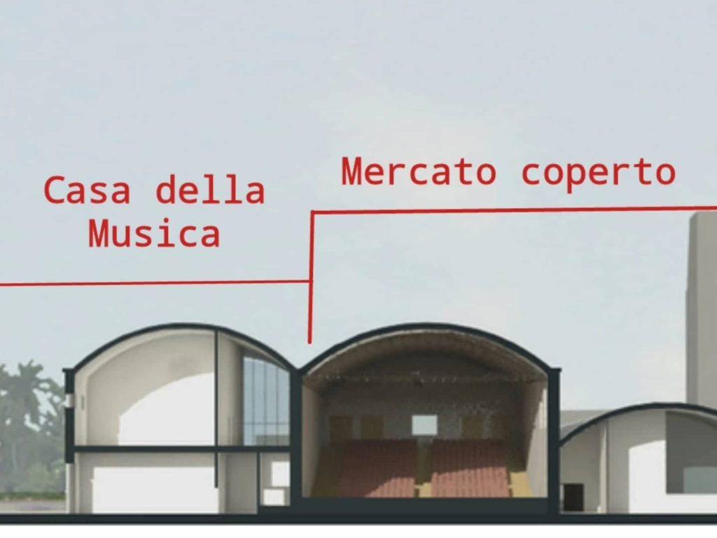 Casa della Musica di Latina, il progetto all'ex Consorzio agrario che rischia di svanire.