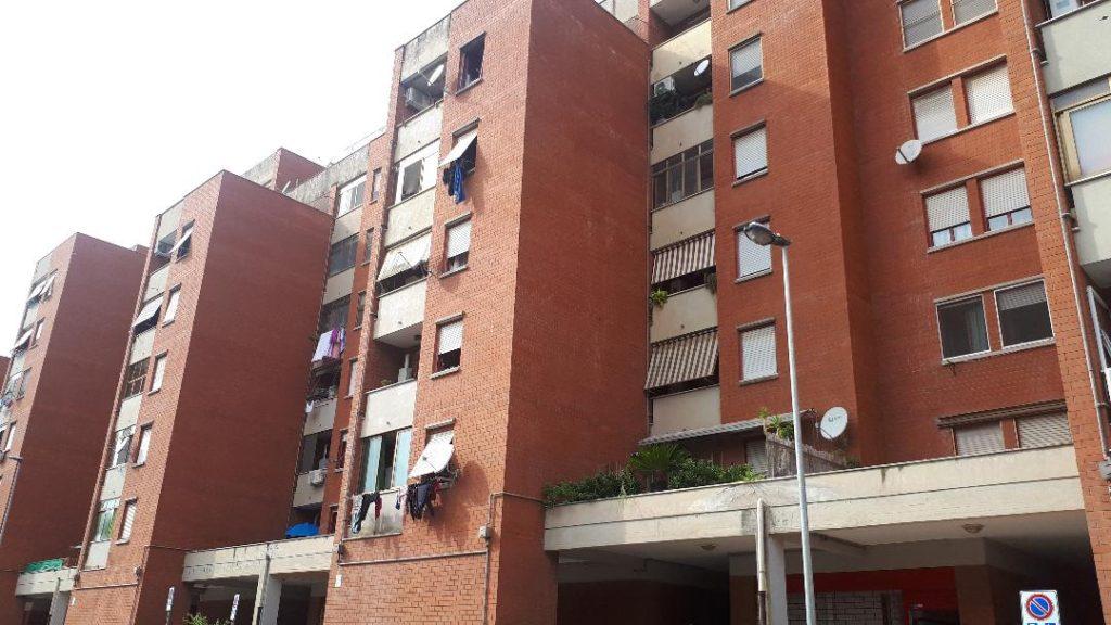 Le case Ater del quartiere del Villaggio Trieste