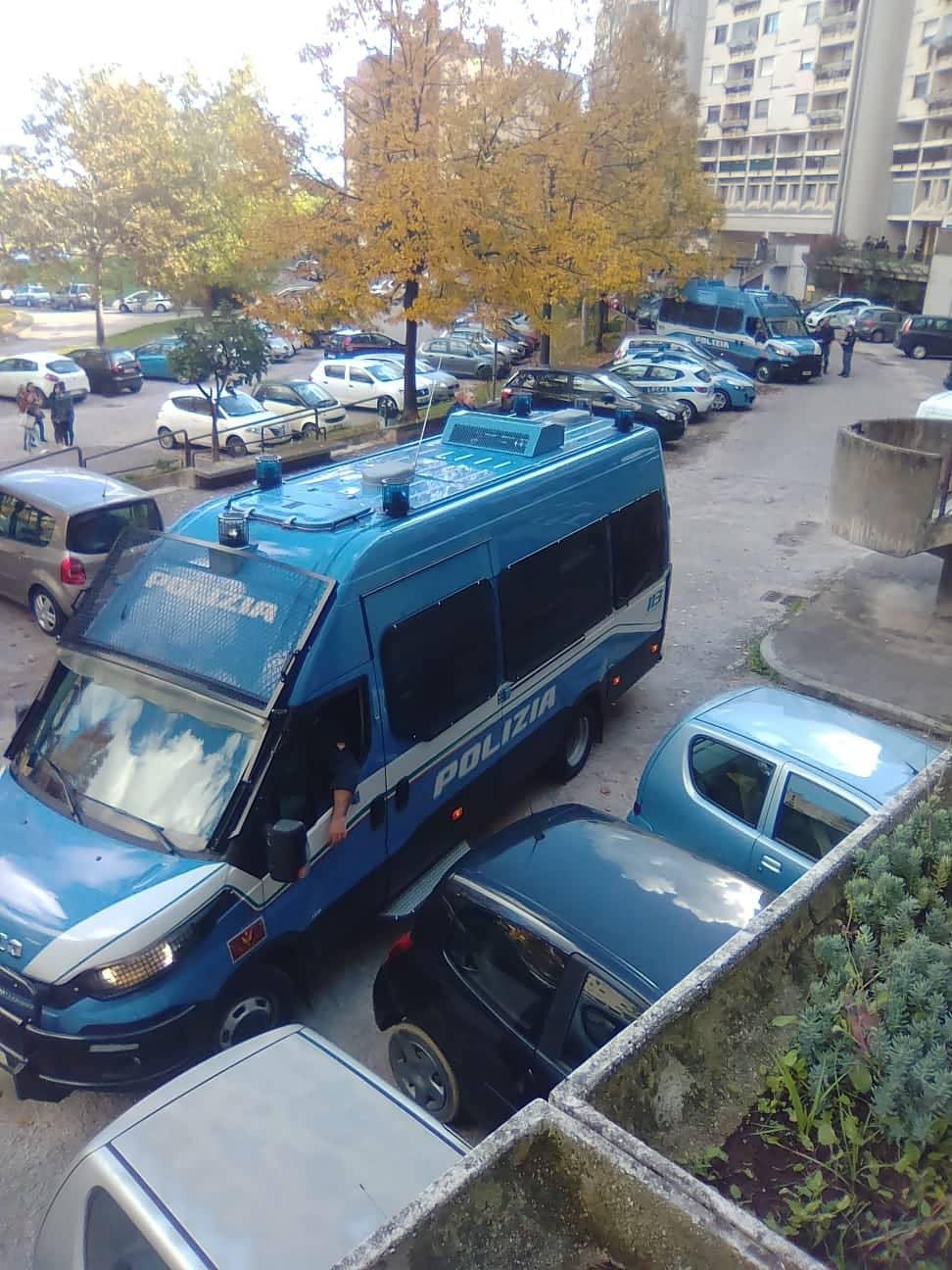Colosseso sgomberato dalla Polizia