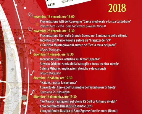 Gaeta Culturale novembre dicembre 2018 (1)