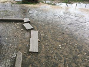 Situazione disastrosa a rio martino