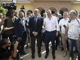 Zingaretti e Salvini
