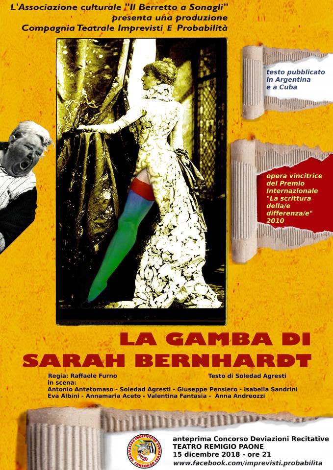 La gamba di Sarah Bernhardt