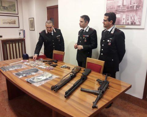 armi ritrovate a Terracina