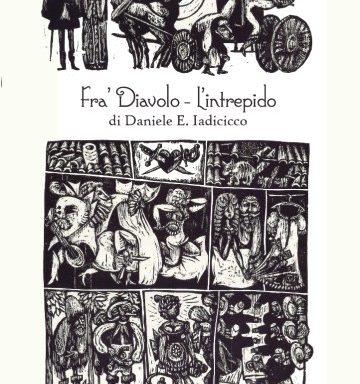 """copertina del libro """"Fra' Diavolo l'intrepido"""""""