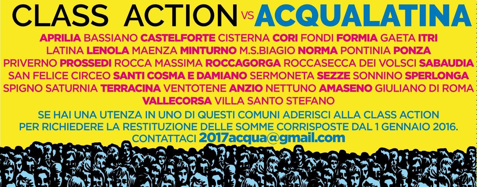 Class Action Acqualatina