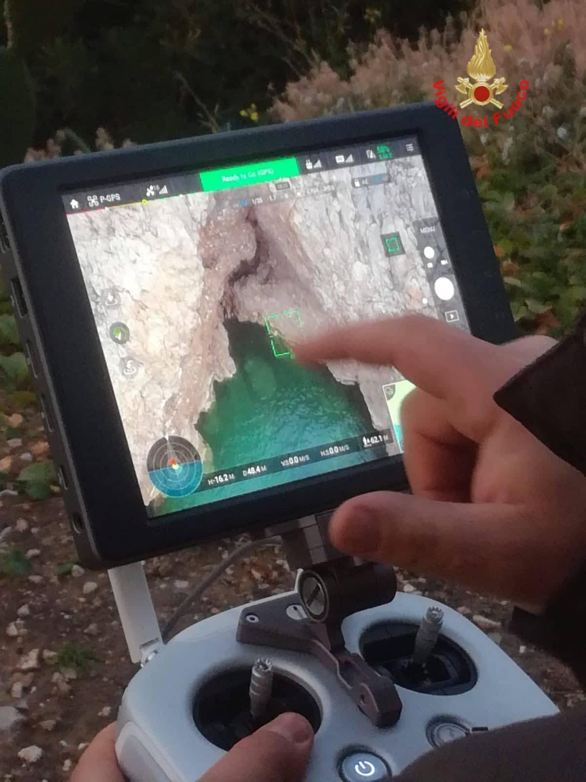 Drone dei Vigili del Fuoco