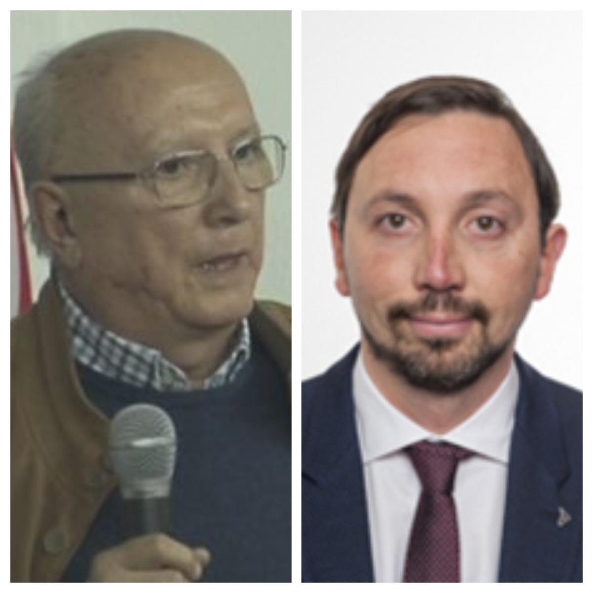 Elvio Di Cesare e Raffaele Trano