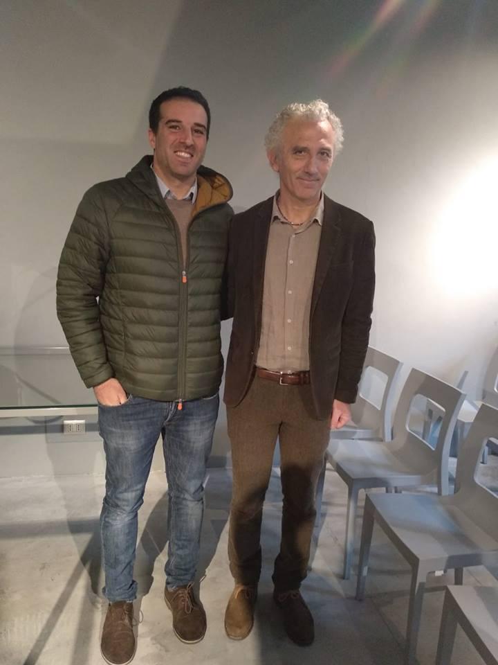 Francesco Giri e Damiano Coletta
