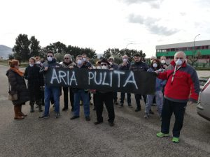Manifestazione a Pontinia