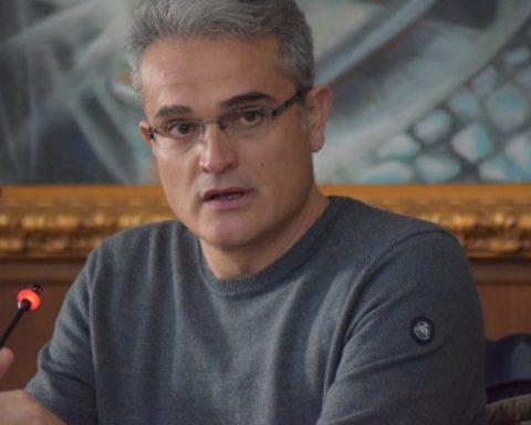 Il sindaco di Sezze Sergio Di Raimo (PD)