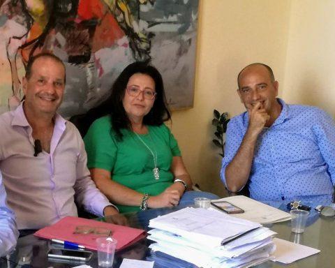 Cosmo Mitrano, Paola Villa e Gerardo Stefanelli