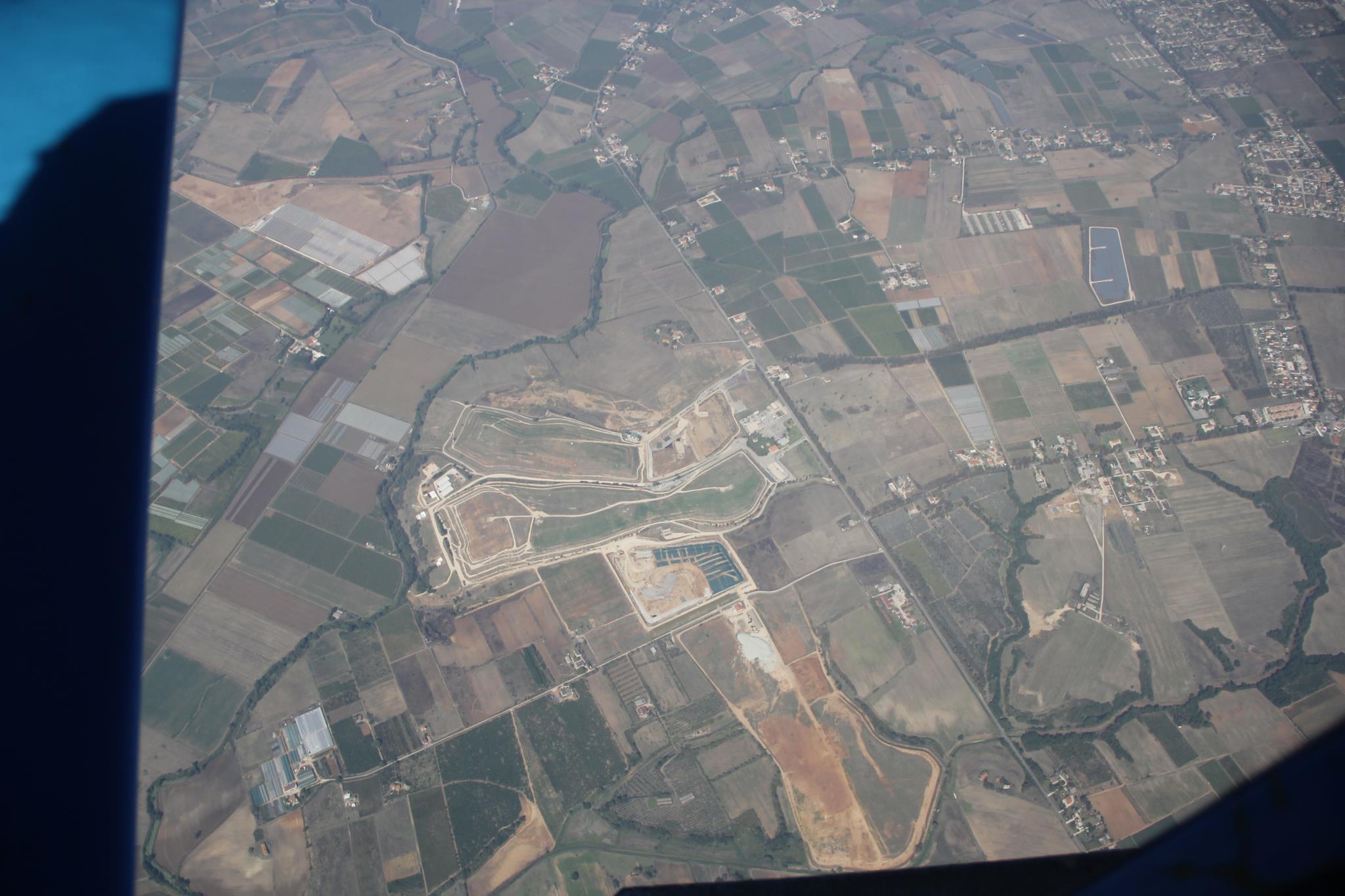 Borgo Montello - discarica vista dall'alto