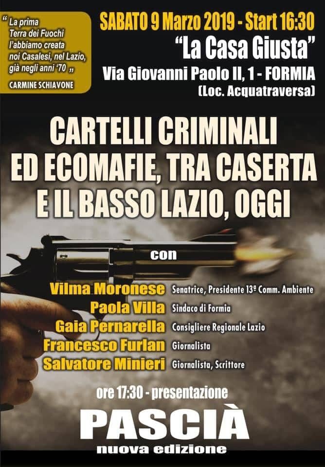 Cartelli criminali Formia