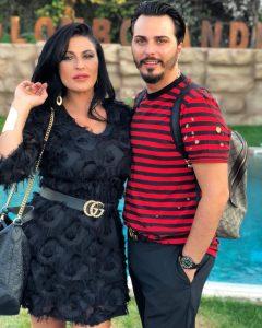 La vedova di Gaetano Marino, Tina Rispoli, e il cantante neomelodico Tony Colombo