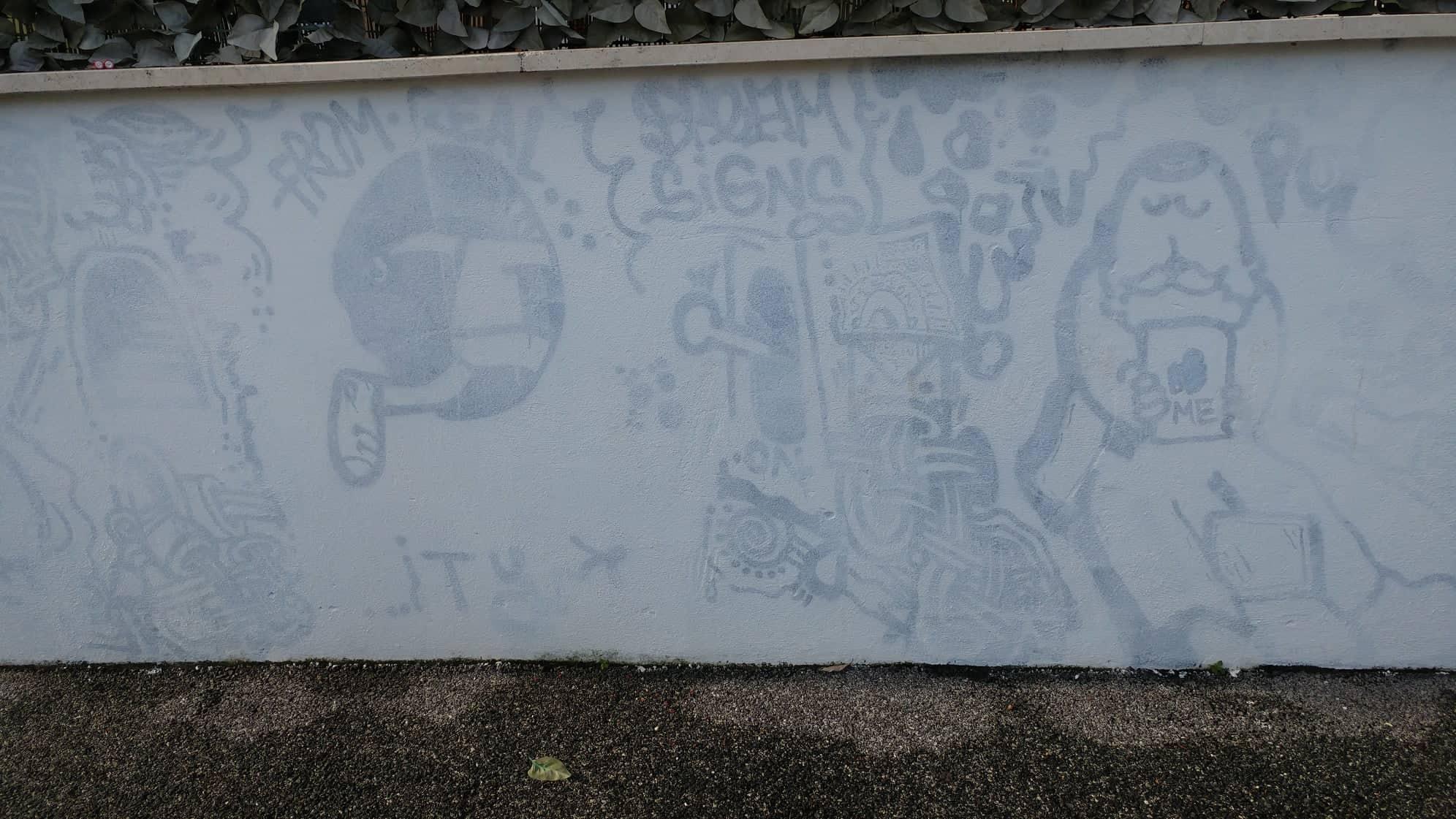 Murales acquedotto Latina 6