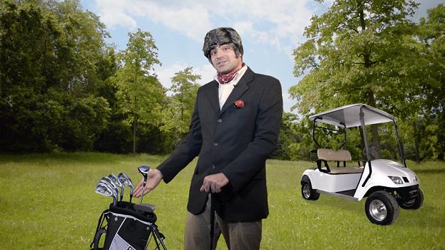 The Navigated Man - Il golf, secondo episodio