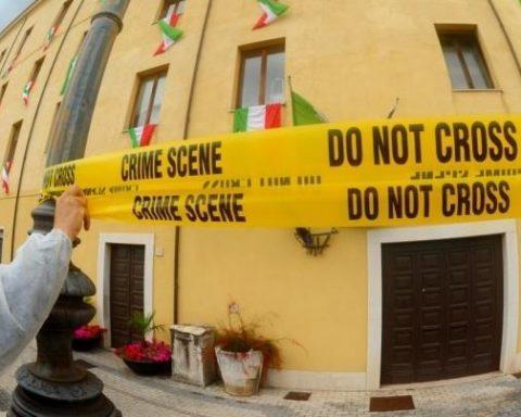 crime scene formia