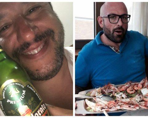 Matteo Salvini e il pentito Agostino Riccardo