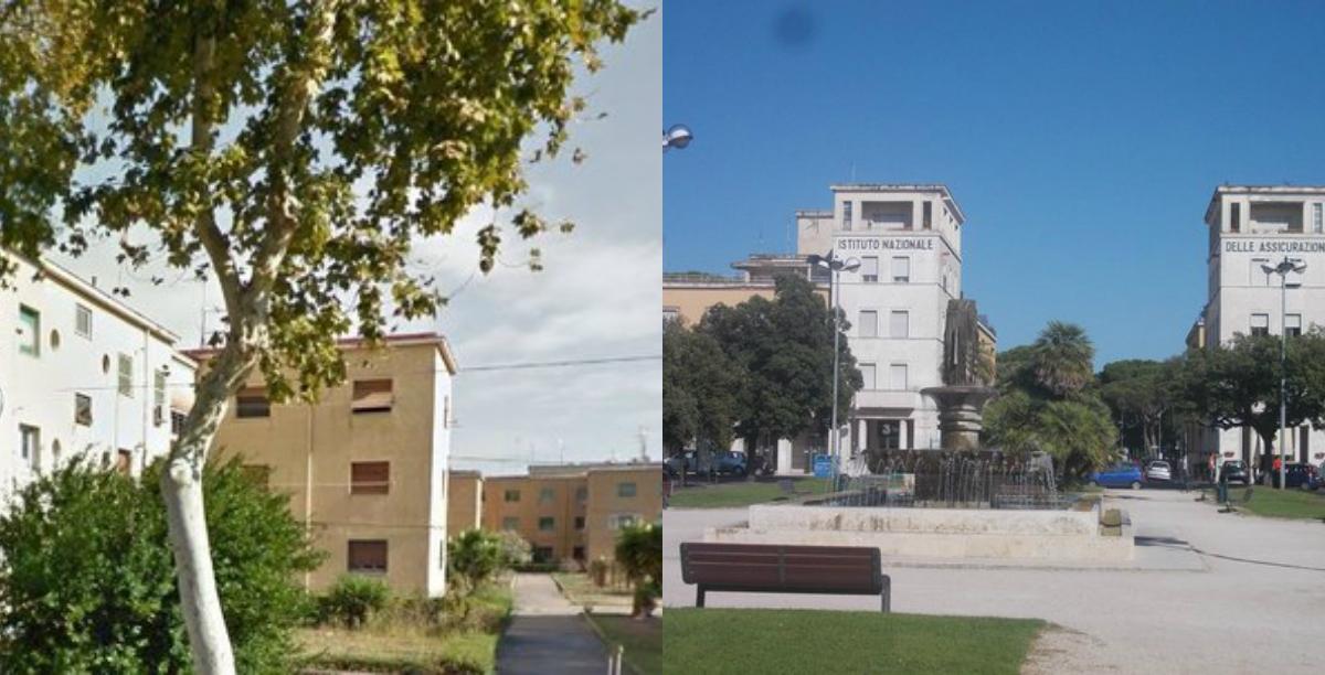 Via Emanuele Filiberto e Piazza della Libertà