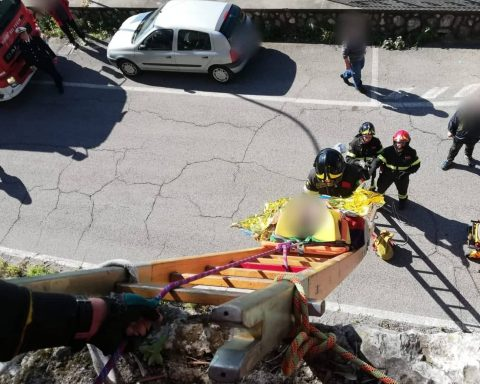 soccorsi a Monte San Biagio