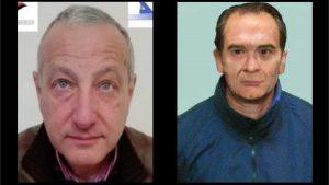 A sinistra Vito Nicastri e a destra Matteo Messina Denaro nella foto ricostruzione della Polizia