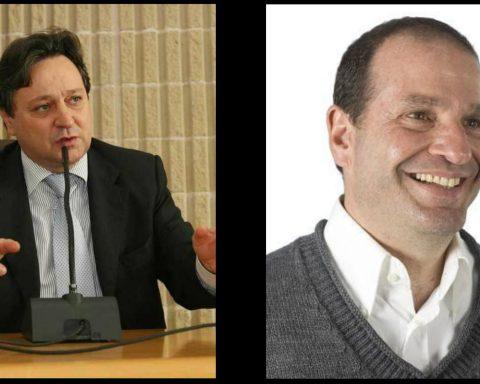 Claudio Fazzone e Cosmo Mitrano