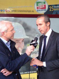 Armando Cusani intervistato da Egidio Fia per LazioTv