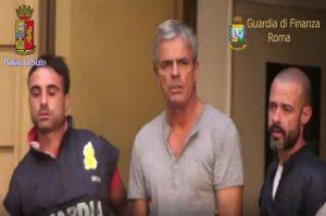 Carlo Zizzo all'epoca dell'arresto del 2017