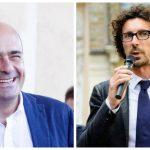 Nicola Zingaretti e Danilo Toninelli