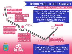 Varchi per il Giro