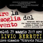 Livio Berruti al Liceo Classico Pollione di Formia
