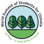 studenti di latina al WORLD SUMMIT OF STUDENTS FOR CLIMATE