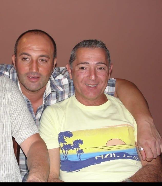 Antonio Libertini (a sinistra) e Paolo Menechelli, l'ex dipendente Meccano che si è tolto la vita