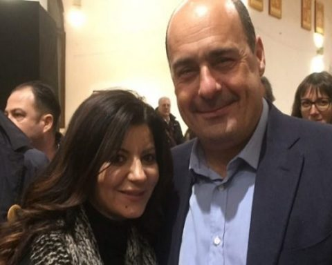 Carmela Cassetta e Nicola Zingaretti