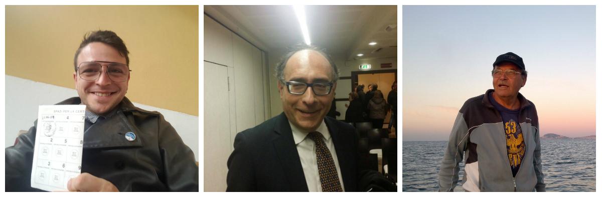 Danilo D'Amico, Enrico Tiero e Pino Sardelli