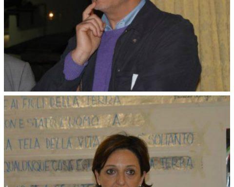 Enzo Eramo e Rita Palombi