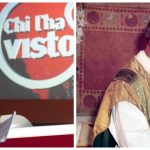 """Federica Sciarelli, conduttrice di """"Chi l'ha visto"""" e il parroco di Borgo Montello Don Cesare Boschin"""