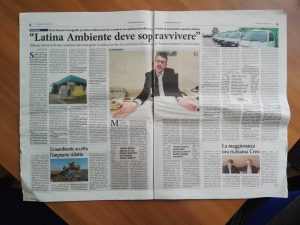 Intervista a Massimo Giungarelli, ex amministratore delegato di Latin Ambiente