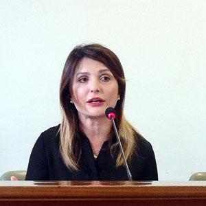 Il pm Luigia Spinelli che dispose gli arresti dei vertici di Indeco nel 2014
