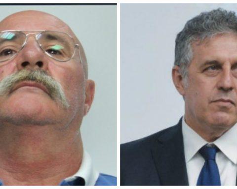 Silvio Guerrera pentito di Cosa Nostra, arrestato a Latina per stalking, e il pm Nino Di Matteo, simbolo del processo sulla Trattativa Stato-mafia