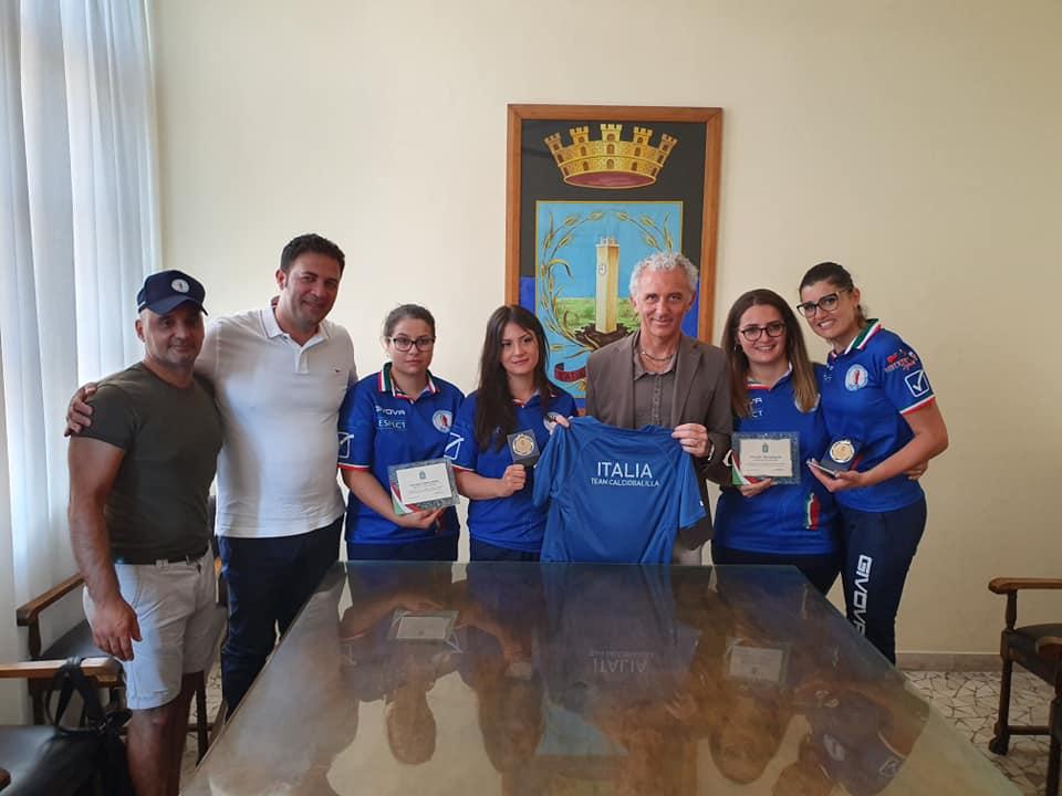 Delegazione al Comune di Latina Nazionale Calcio Balilla LICB(1)