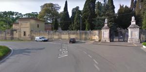 Entrata del cimitero di Sezze