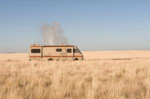 Le lande ampie e desolate dalla serie televisiva Breaking Bad
