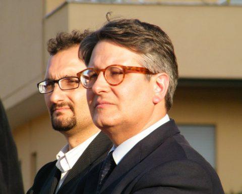 Mauro Visari e Claudio Moscardelli