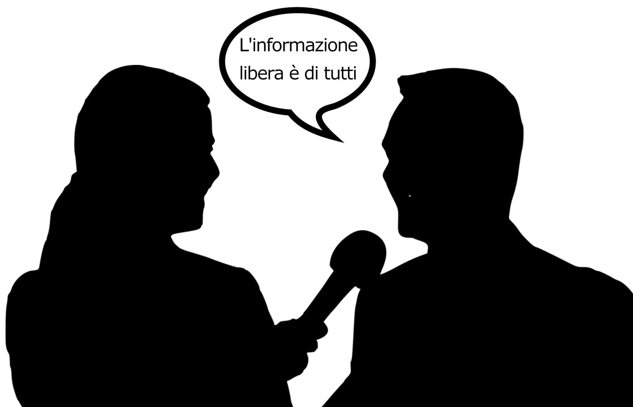 """intervista fumetto """"L'informazione libera è di tutti"""""""