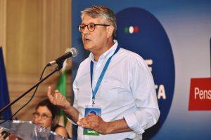 intervento di Claudio Moscardelli alla convention di Guerini e Lotti