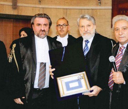 nella foto (a sinistra) il Presidente dell'Ordine degli Avvocati di Latina