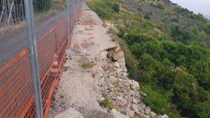 strada ceduta a La Ciana