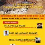Conferenza dibattito Discarica Calabretto a Itri